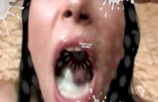La brune aux gros seins Jayden sexe gratuit vierge Jaymes suce une énorme bite